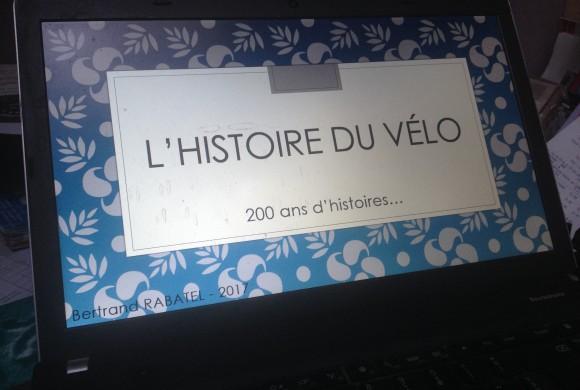 Conférence : 200 ans d'histoires sur le vélo !