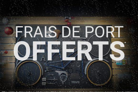 FRAIS DE PORT OFFERTS !
