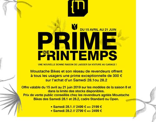 PRIME DE PRINTEMPS MOUSTACHE !