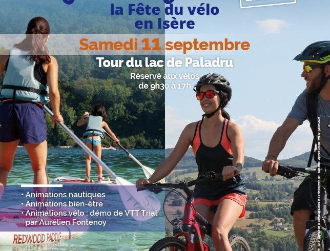 FESTIVAL À BICYCLETTE – Animations vélo au Lac de Paladru